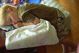 Hunter sleeping 52808