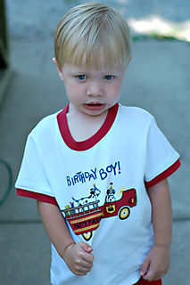 Hunter bday shirt