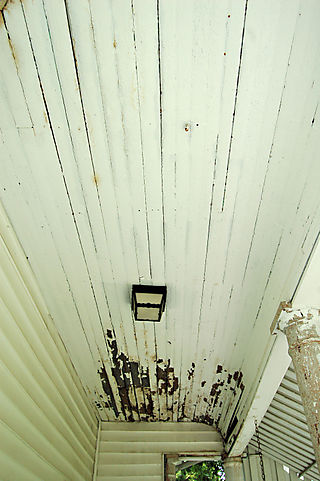 Front porch ceiling 2